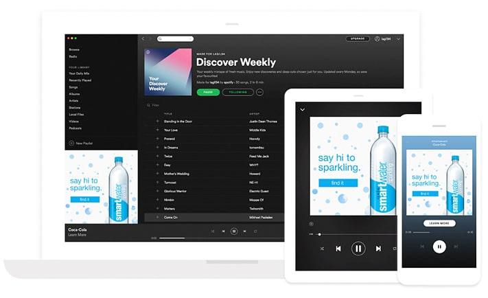Spotify aineisto-ohjeet