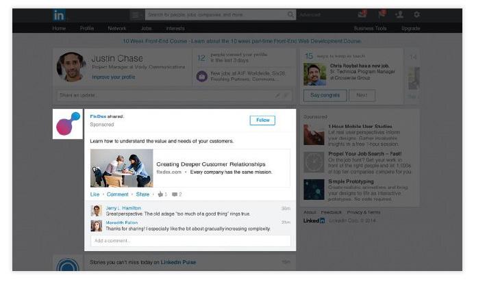 Aineisto-ohje LinkedIn sponsoroitu julkaisu